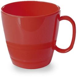 WACA Tasse (4-tlg), Kunststoff, 230 ml rot