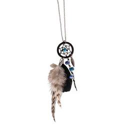 Rayher Schmuck-Basteln-Set Halskette Traumfänger Luna silber