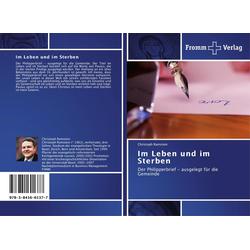 Im Leben und im Sterben als Buch von Christoph Ramstein