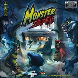 Board Game Box Spiel, Brettspiel Monster Slaughter