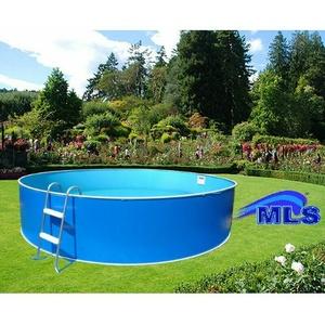 Poolfolie rund blau Innenfolie Poolauskleidng Ersatzauskleidung 4.60 m x 1.10 m