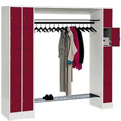CP Garderobe rot/grau