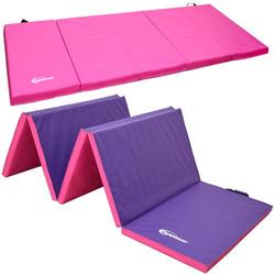 XXL Gymnastikmatte 300x100x5cm Weiche Turnmatte Sportmatte Weichbodenmatte Pink