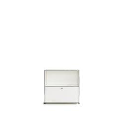 USM Regal weiß, Designer Prof. Fritz Haller, 74x78x38 cm