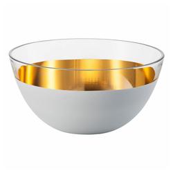 Eisch Schale Cosmo Weiß 24 cm, Kristallglas weiß