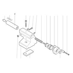 PROXXON 24004-04-02 Pinole für Drehmaschine PD 230/E