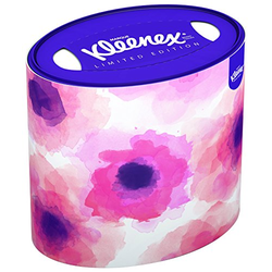 Kleenex Decor 64 Tücher in ovaler Dose