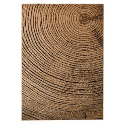 Teppich Baumscheiben Optik ca. 120/170 cm