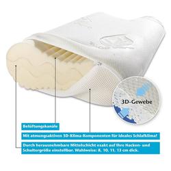 Schlafkissen, -Kissen Premium - B 50 x L 35 cm, Best-Schlaf-System 60 cm x 35 cm x 13 cm
