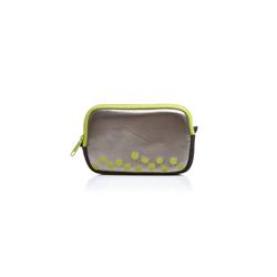 Acme Made Handtasche ACME MADE Kamera-Tasche geblümtes Soft Case Handy-Tasche Cool little case iPod-Tasche Anthrazit