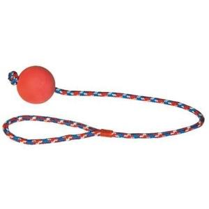 Wurfball am Seil Schleuderball Wurfspielzeug Zerrspielzeug Hundespielzeug