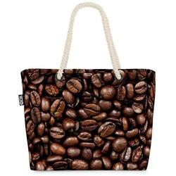 VOID Strandtasche (1-tlg), Kaffeebohnen Kaffee Beach Bag Kaffee Cafe Bohnen Maschine Kaffeemaschine
