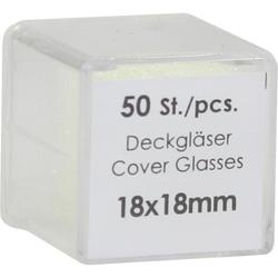 DECKGLAESER 18X18MM