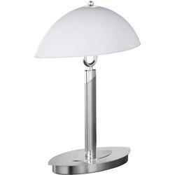 WOFI Newton 8112.02.64.0010 Tischlampe LED E14 80W Nickel (matt)