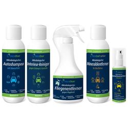 MWK Bionik Reinigungselement Mikrobiologische Reinigung für das Auto - Starterset, 5-tlg., 100 % natürlich - 100 % biologisch abbaubar