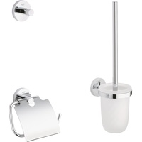 GROHE Essentials 3 in 1 WC-Set 40407001 chrom