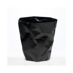 Klein & More Papierkorb Essey Papierkorb BIN BIN schwarz