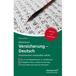 Wörterbuch Versicherung - Deutsch: Buch von Kirstin von Elm