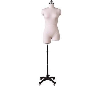 LSK- Schneiderpuppe Damenbüste Schneider Mannequin Dummy Clothing Store Mannequins Modell mit Metallfuß Auslage Regal (Color : White, Size : 92)
