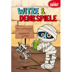 Witze & Denkspiele als Buch von