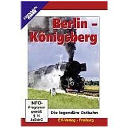 Berlin - Königsberg - DVD  Filme