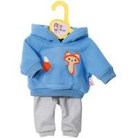 Zapf Creation Dolly Moda Sport-Outfit blau (870136)