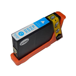 vhbw Druckerpatronen, Tintenpatronen, Druckerpatrone, Tintenpatrone cyan mit Chip für Dell Pro V525, V525W, V725, V725W wie 31, 32, 33, 34.