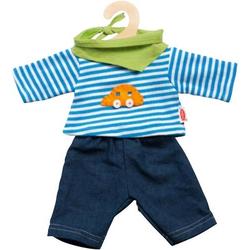 Puppen-Jeans mit Shirt, Gr. 35-45cm