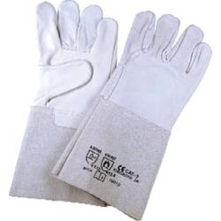 Schweißer-Schutzhandschuhe Spaltleder. Größe 10 VPE: 12