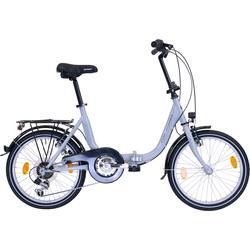 Performance Klapprad, Shimano, TOURNEY TY21 Schaltwerk, Kettenschaltung silberfarben Fahrräder Motorroller Klapprad