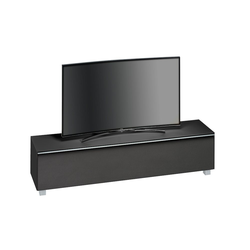 Maja Möbel Lowboard Soundboard 7738, 180 cm schwarz