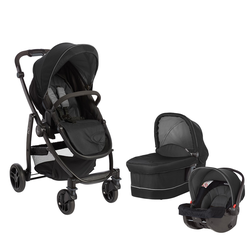 Kombikinderwagen Graco Evo Black Grey