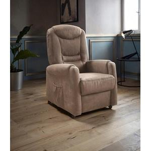 Places of Style TV-Sessel Tamworth, in Größe M, wahlweise mit Motor und Aufstehhilfe weiß