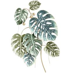 Wanddeko grün