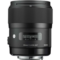 35 mm F1,4 DG HSM (A) Pentax K