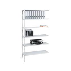 SZ METALL Anbauregal Multiplex, beliebig ausbaubar weiß 100 cm x 200 cm x 40 cm