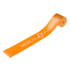 Medical Flossing Therapieband schmal orange 1 m