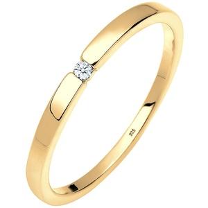 DIAMORE DIAMORE Ring Verlobungsring Klassiker Diamant (0.015 ct.)Silber