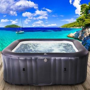 Whirlpool aufblasbar MSpa Otium 6 Personen In-Outdoor Pool Heizung 185x185x68cm
