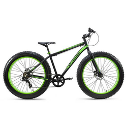 Fatbike 26'' Fat-XTR Schwarz 7 Gänge RH 46 cm KS Cycling