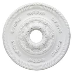 Zierrosette Deckenrosette Sofia für Deckenventilator