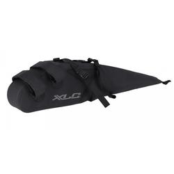 XLC Fahrradkorb XLC Tail Bag wasserdicht schwarz, 68x33x15cm, 20l