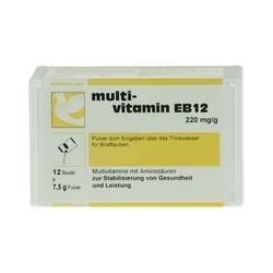 MULTIVITAMIN EB12 Pulver f.Tauben 12X7.5 g