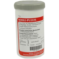 KOHLE pulvis Pulver 10 g