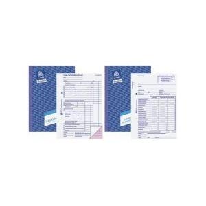 Zweckform Wochenrapport/1310 DIN A5 quer weiß Blaupapier Inh.100 Blatt
