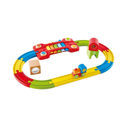 Hape Spielzeugeisenbahn-Set Eisenbahn der Sinne-Set