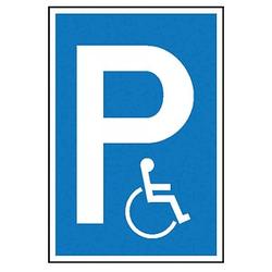 SafetyMarking® Hinweisschild - P Rollstuhlfahrer