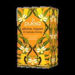 PUKKA Bio zitrone, ingwer & manuka-honig