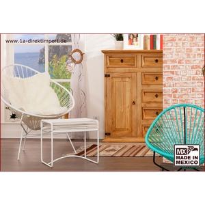 Original Acapulco Chair weiß - Retro Sessel - Outdoor und Indoor