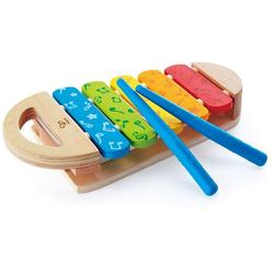 Hape Spielzeug-Musikinstrument Regenbogen Xylophon